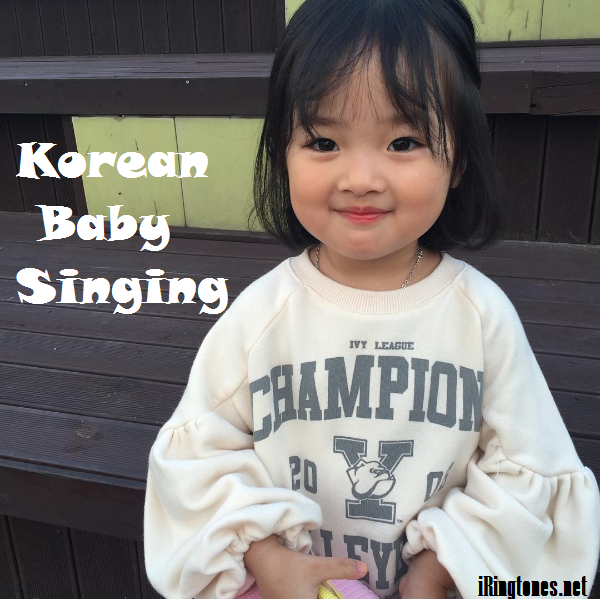 Korean Baby Singing
