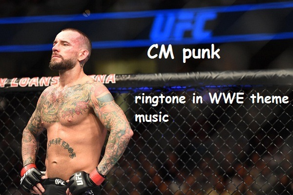 CM Punk ringtone in WWE theme music