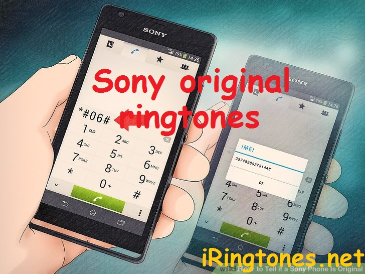 Sony original ringtone