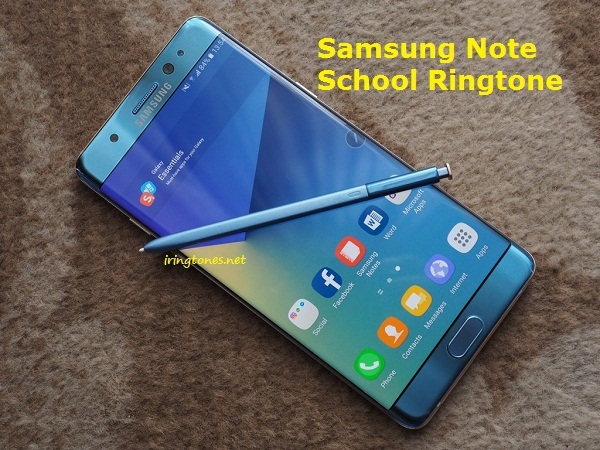 Samsung Note School Ringtone